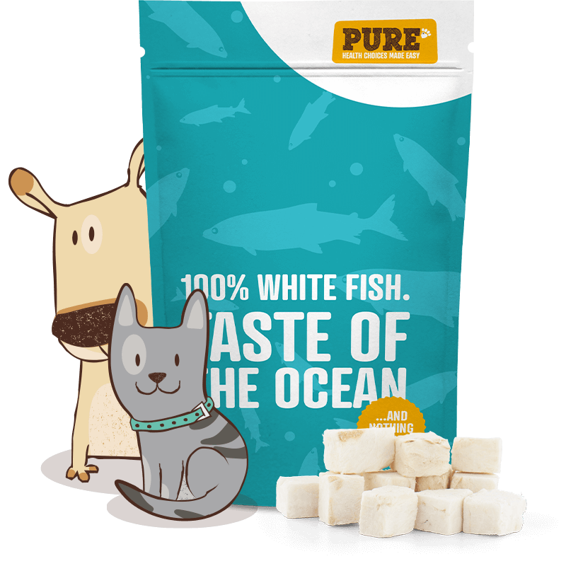 Taste of the Ocean: Freeze Dried Fish Treat